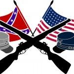 American Civil War — Stock Vector