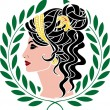Aphrodite — Stock Vector