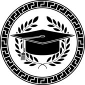 Square academic cap — Stock Vector