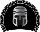 Medieval helmet — Stock Vector