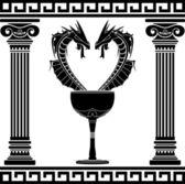 Symbole de pharmacie fantaisie — Vecteur