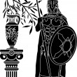 Royalty-Free Stock Imagen vectorial: Ancient hellenic man