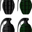 Grenades — Stock Vector
