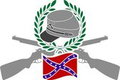 Glory of Confederacy — Stock Vector