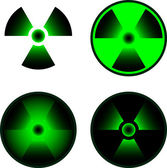 Signs of radiation — Stock Vector