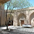 Internal a court yard in ancient Khoresm — Stock Photo #1340458