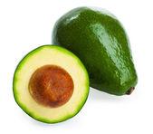 Avocado's geïsoleerd op een witte achtergrond — Stockfoto