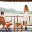 Wedding couple on Phuket — Stock Photo