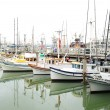 Royalty-Free Stock Photo: Boats in a San Francisco harbor