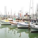 Boats in a San Francisco harbor — Stock Photo #13490055