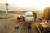 Onderhoud van vliegtuigen voor de burgerluchtvaart — Stockfoto