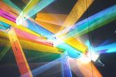 Fundo colorido futurista — Foto Stock