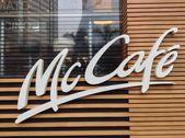 Mc Cafe. McDonalds restaurant — Stock Photo