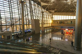 Interior of airport Vnukovo — Stock Photo