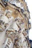 The Dresden Frauenkirche — Стоковое фото