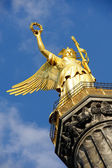 Golden statue in Berlin — Photo