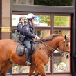 Stock Photo: Mounted police officers