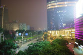 Area near Guangzhou International Finance Centre — Stock Photo