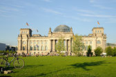 The Reichstag building in Berlin — Stock Photo