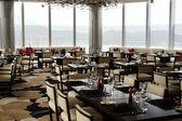 Restaurant in Crowne Plaza Hotel — Stock Photo