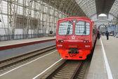 Kolejowego aeroexpress w vokzal kijowski — Zdjęcie stockowe