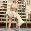 Statue of Marilyn Monroe in Chicago — Stock Photo #48079355