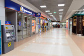 Sheremetyevo airport interior — Stock Photo