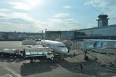 Docked jet flight — Stock Photo