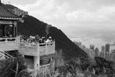 Blick vom victoria peak — Stockfoto