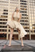 Statue of Marilyn Monroe in Chicago — Stock Photo