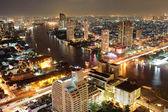 Aerial view on Bangkok — Stock Photo