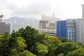 Centro da cidade de hong kong — Foto Stock