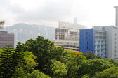 Centro di hong kong — Foto Stock