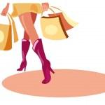 Shopping — Stock Vector #4888187
