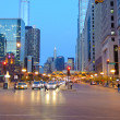 Постер, плакат: Chicago downtown