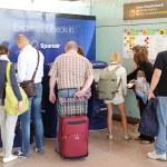 Express check-in kiosks of Spanair — Stock Photo #50454857