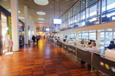 Interior del aeropuerto de copenhague — Foto de Stock