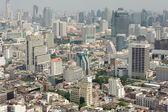Bangkok downtown view from Leboa hotel — Stock Photo