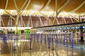 Pudong Airport interior — Foto de Stock