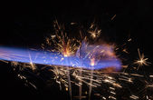 Pyrotechnic abstract — Stock Photo