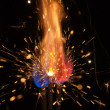 Holiday sparks — Stock Photo #14871457