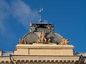 Binanın çatı — Stok fotoğraf