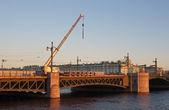 Oprava mostu palác — Stock fotografie
