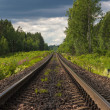 Stock Photo: Direct railway