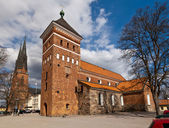 Dos iglesias — Foto de Stock