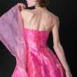 Girl in a pink dress — Stock Photo #21630515