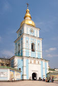 Bell tower of Saint Michael Cathedral — Stock Photo