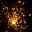 Bright sparks — Stock Photo