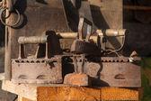 Old rusty irons — Stockfoto