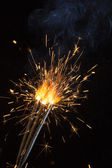 Fire holiday abstract — Stock Photo